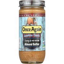 Once Again Almond Butter - Natural - American Classic - No Stir - 16 Oz - Case Of 12