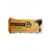 Nugo Nutrition Bar - Stronger Peanut Cluster - 2.82 Oz - Case Of 12