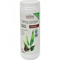 Nutiva Organic Hemp Shake Chocolate - 16 Oz