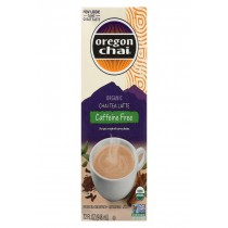 Oregon Chai Tea Latte Concentrate - Caffeine Free - Case Of 6 - 32 Fl Oz.