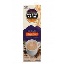 Oregon Chai Tea Latte Concentrate - Sugar Free - Case Of 6 - 32 Fl Oz.