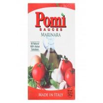 Pomi Tomatoes Marinara Sauce - Case Of 12 - 26.46 Fl Oz.