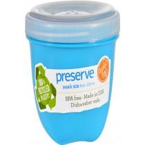 Preserve Food Storage Container - Round - Mini - .aqua - 8 Oz - 1 Count - Case Of 12
