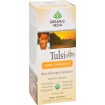 Organic India Tulsi Tea Honey Chamomile - 18 Tea Bags - Case Of 6