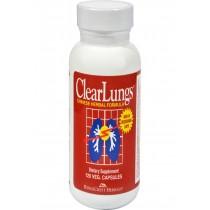 Ridgecrest Herbals Clearlungs - 120 Vegetarian Capsules