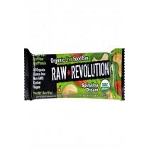 Raw Revolution Bar - Organic Spirulina Dream - Case Of 12 - 1.8 Oz