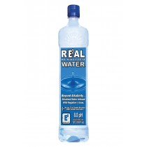Real Water Alkalized Water - Case Of 12 - 1 Liter