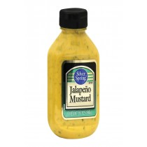 Silver Spring Squeeze - Mustard - Jalapeno - Case Of 9 - 9.5 Oz