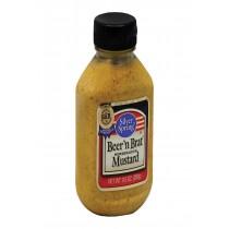 Silver Spring Squeeze - Mustard - Beer Brat - Case Of 9 - 9.5 Oz