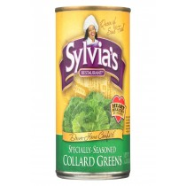 Sylvia's Collard Greens - Case Of 12 - 14.5 Oz.