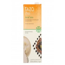 Tazo Tea Decaf Tea - Chai Latte - Case Of 6 - 32 Fl Oz