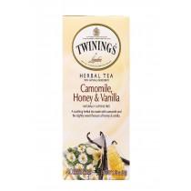 Twining's Tea Herbal Tea - Chamomile, Honey And Vanilla - Case Of 6 - 20 Bags