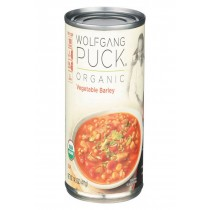 Wolfgang Puck Organic Vegetable Barley Soup - Case Of 12 - 14.5 Oz.
