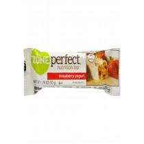 Zone Nutrition Bar - Strawberry Yogurt - Case Of 12 - 1.76 Oz