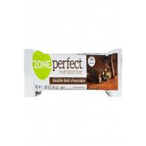 Zone Nutrition Bar - Double Dark Chocolate - Case Of 12 - 1.58 Oz