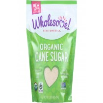 Wholesome Sweeteners Sugar - Organic - Milled - Unrefined - 1 Lb - Case Of 12