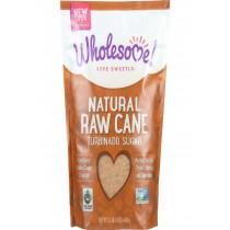 Wholesome Sweeteners Sugar - Natural Raw Cane - Turbinado - Fair Trade - 1.5 Lb - Case Of 12
