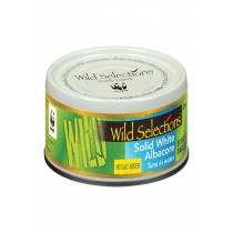 Wild Selections Solid White Albacore Tuna In Water - No Salt - Case Of 12 - 5 Oz.