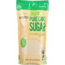 Woodstock Sugar - Organic - Pure Cane - Granulated - 24 Oz - Case Of 12
