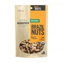 Woodstock Organic Brazil Nuts - Case Of 8 - 8.5 Oz.