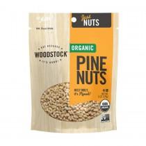 Woodstock Organic Pine Nuts - Case Of 8 - 6 Oz.