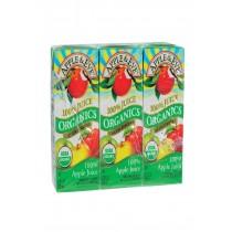 Apple And Eve Organics 100 Percent Juice - Apple Juice - Case Of 9 - 200 Ml