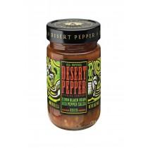 Desert Pepper Trading Medium Corn Black Bean Red Pepper Salsa - Case Of 6 - 16 Oz.