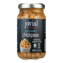 Jovial Organic Chickpeas - Case Of 6 - 13 Oz.