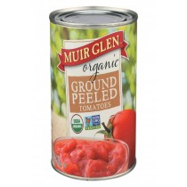 Muir Glen Ground Peeled Tomato - Tomato - Case Of 12 - 28 Oz.