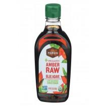 Madhava Honey Organic Agave Nectar - Amber - Case Of 6 - 23.5 Oz.