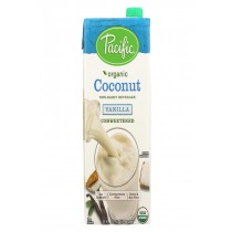 Pacific Natural Foods Coconut Vanilla - Unsweetened - Case Of 12 - 32 Fl Oz.