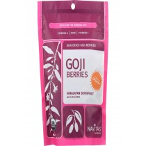 Navitas Naturals Goji Berries - Organic - Sun-dried - 8 Oz - Case Of 12