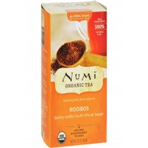 Numi Red Mellow Bush Rooibos Tea - 18 Tea Bags - Case Of 6