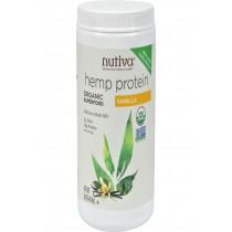 Nutiva Organic Hemp Shake Vanilla - 16 Oz