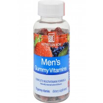 Nutrition Now Men's Gummy Vitamins Bold Fruit - 70 Gummies