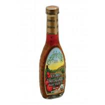 Organic Ville Sun Dried Organic Vinaigrette - Tomato And Garlic - Case Of 6 - 8 Fl Oz.