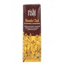Rishi Masala Chai Concentrate - Case Of 12 - 32 Fl Oz
