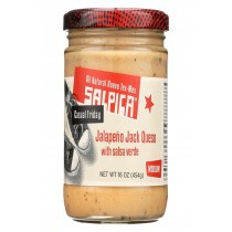 Salpica Salsas Dip - Jalapeno Jack Queso - Case Of 6 - 16 Oz.