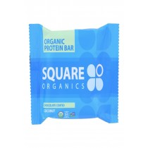 Squarebar Organic Protein Bar - Cocoa Coconut - 1.7 Oz - Case Of 12
