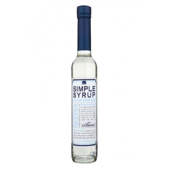 Stirrings Bar Ingredients - Simple Syrup - Case Of 6 - 12 Fl Oz.