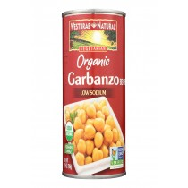 Westbrae Foods Organic Garbanzo Beans - Case Of 12 - 25 Oz.