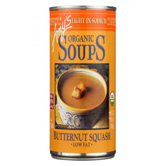 Amy's Organic Low Sodium Butternut Squash Soup - Case Of 12 - 14.1 Oz