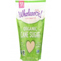 Wholesome Sweeteners Sugar - Organic - Turbinado - Raw Cane - 64 Oz - Case Of 6