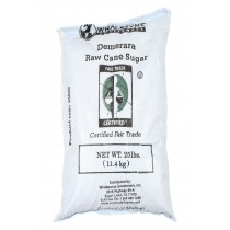 Wholesome Sweeteners Turbinado Sugar - Raw Cane Sugar - Case Of 25 - 1 Lb.
