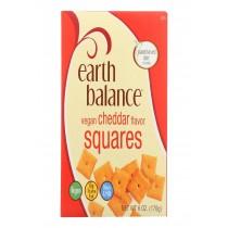Earth Balance Vegan Squares - Cheddar - Case Of 6 - 6 Oz.