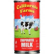 California Farms Evaporated Milk - 12 Oz - Case Of 24