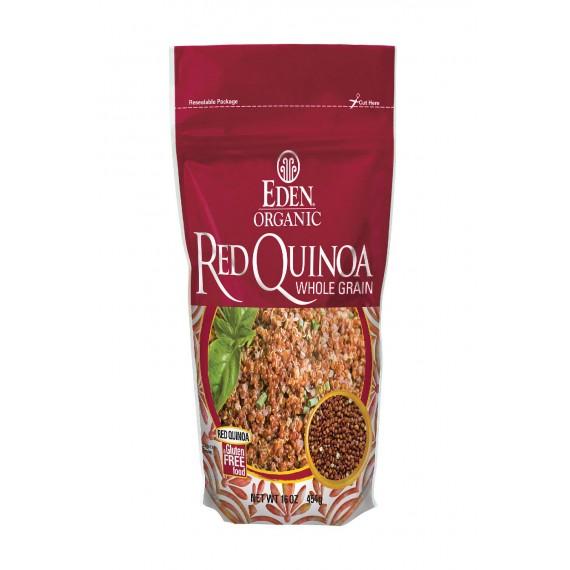 Eden Foods Red Quinoa - Organic - Case Of 12 - 16 Oz.