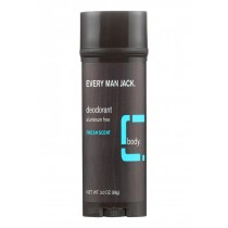 Every Man Jack Body Deodorant - Fresh Scent - 3 Oz