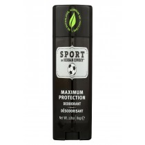 Herban Cowboy Deodorant - Sport Maximum Protection - 2.8 Oz