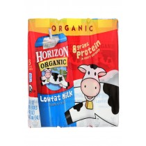 Horizon Organic Dairy Organic Low Fat 1 % Milk - Aseptic - Case Of 3 - 6/8 Fl Oz